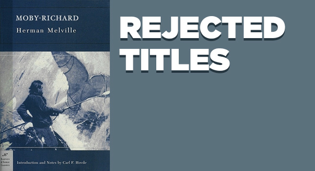 rejected titles dec '12